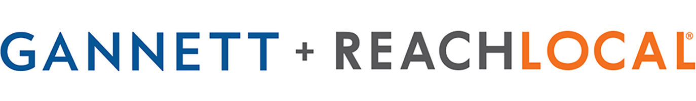 Gannett + ReachLocal Logos
