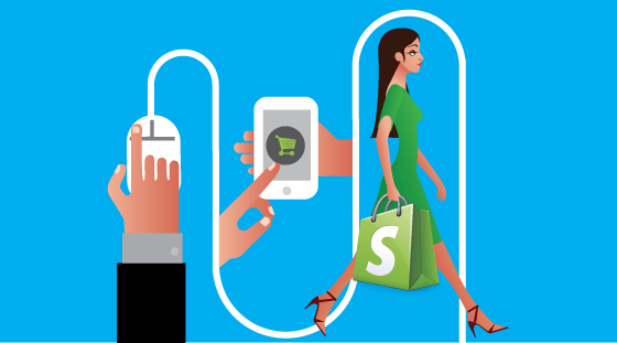Some Advice to Omni-Channel Retailers: Click vs. Shopping Graphic