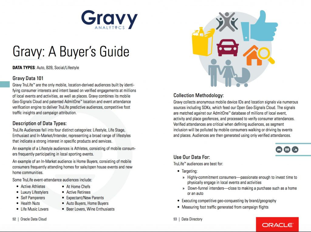 Oracle Data Cloud: Buyer's Guide