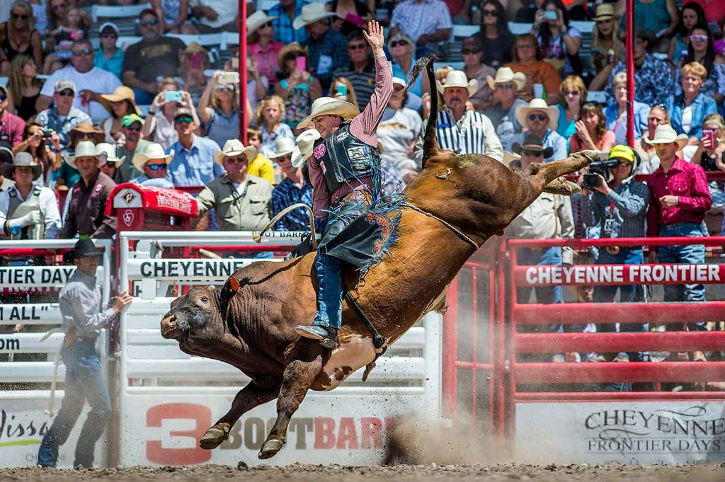 Event of the Week: Frontier Days - Bull Riding Image