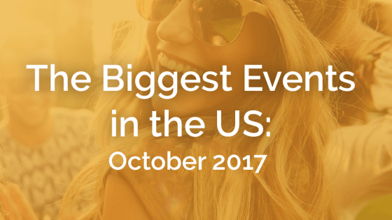 The Biggest Events in the U.S.: October 2017 - Featured Image