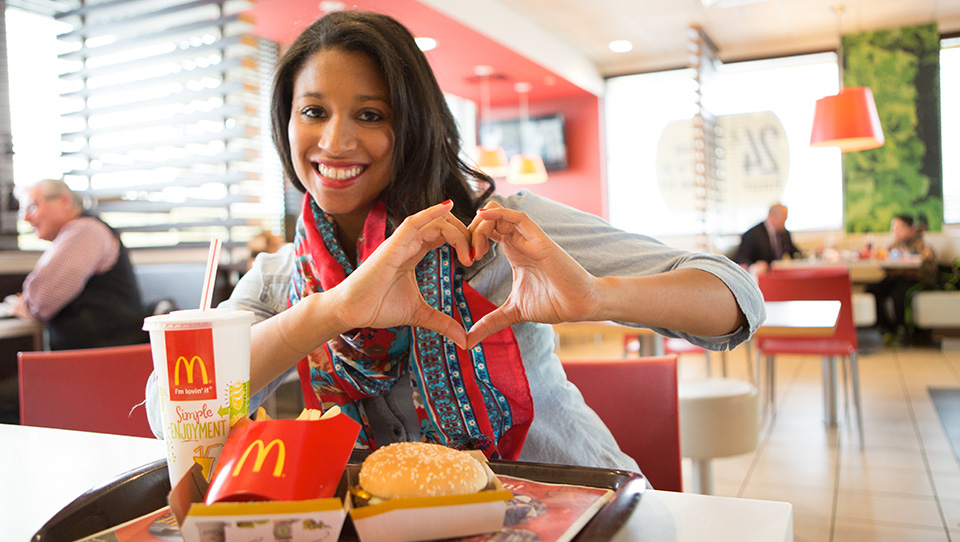 #3.FAST FOOD DINERS - MCDONALD'S