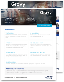 Gravy DaaS Overview