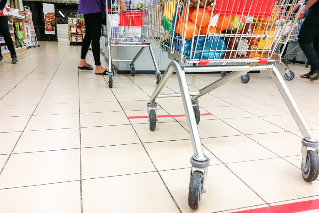 U.S. Consumer Shopping & Social Distancing