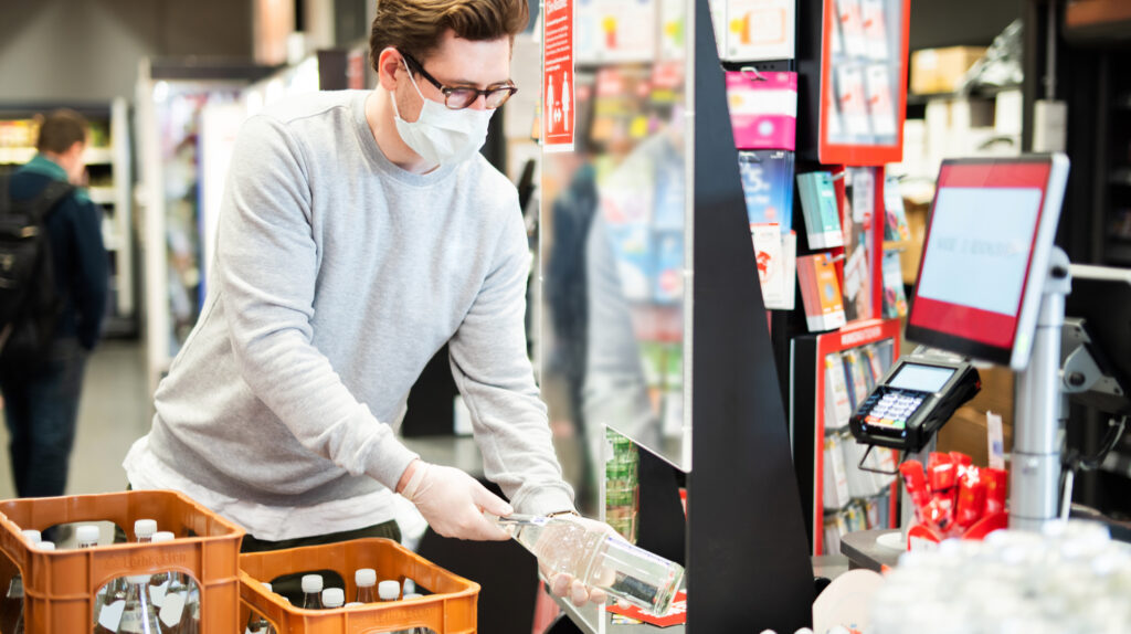 Analysis of COVID-19 Impact on Convenience Stores